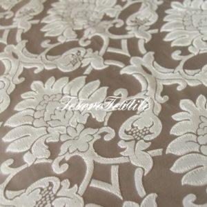 Ткань для штор Атлас JARDIN цвет серый