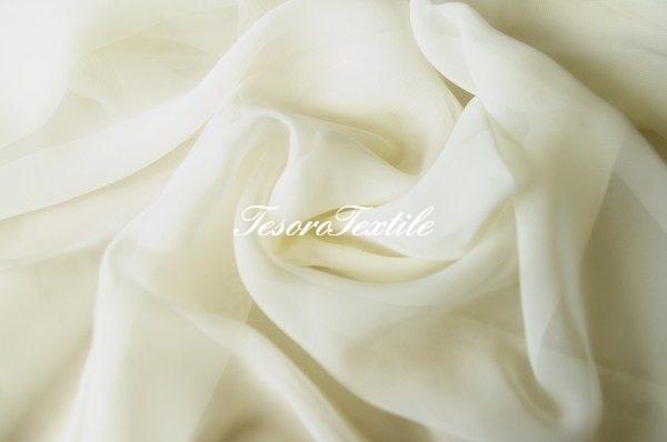 Ткань для штор Вуаль LOUIS цвет ванильный