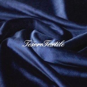 Ткань для штор Бархат SCANDINA цвет темно-синий