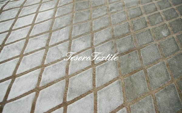 Ткань для штор Пан-бархат SCANDINA цвет серо-коричневый