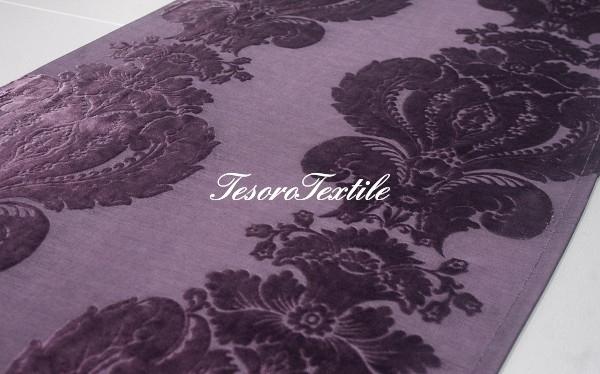 Ткань для штор Пан-бархат SCANDINA цвет фиолетовый