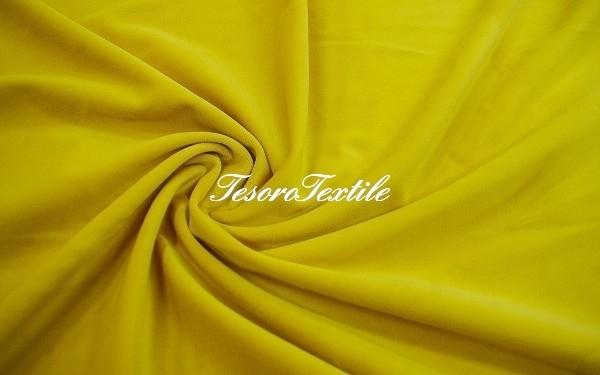 Ткань для штор Бархат VELOURS цвет лимон
