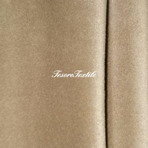 Ткань для штор Бархат Alice ширина 300см цвет Светлая карамель
