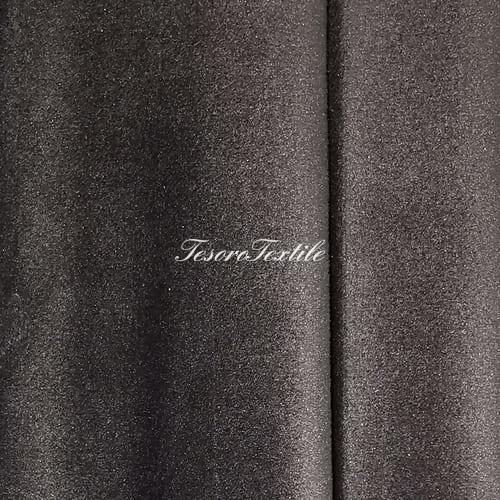 Ткань для штор Бархат Alice ширина 300см цвет Серо-коричневый