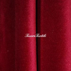 Ткань для штор Бархат Alice ширина 300см цвет Красный
