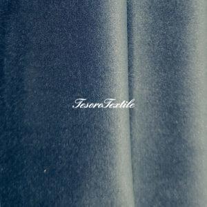 Ткань для штор Бархат Alice ширина 300см цвет Дымчато-голубой