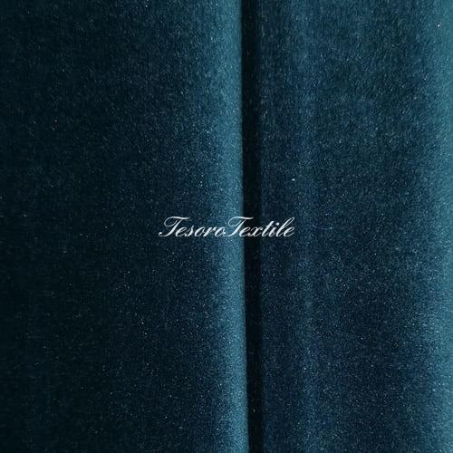 Ткань для штор Бархат Alice ширина 300см цвет Морская волна