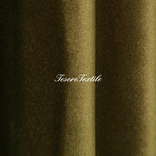 Ткань для штор Бархат Alice ширина 300см цвет Горчичный