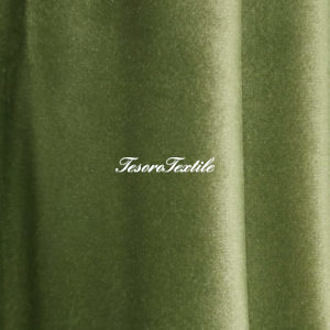 Ткань для штор Бархат Alice ширина 300см цвет Зеленый