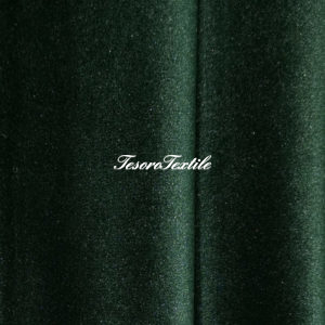 Ткань для штор Бархат Alice ширина 300см цвет Темно-зеленый