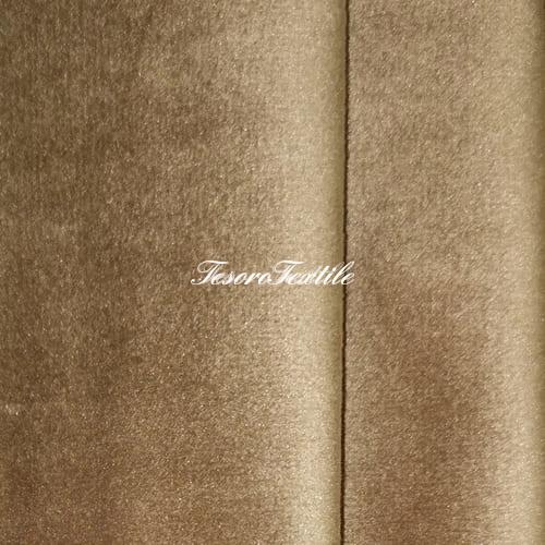 Ткань для штор Бархат Alice ширина 300см цвет Песочный