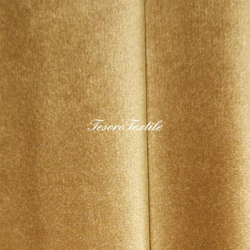 Ткань для штор Бархат Alice ширина 300см цвет Кэмел
