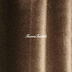 Ткань для штор Бархат Alice ширина 300см цвет Кофе