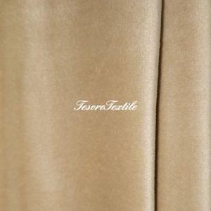 Ткань для штор Бархат Alice ширина 300см цвет Светлое золото