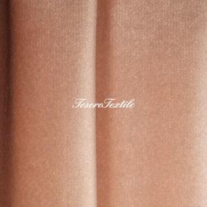 Ткань для штор Бархат Alice ширина 300см цвет Персиковый